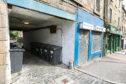 The close on Albert Street