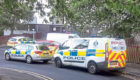 Police attending Dallfield Court