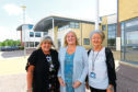 Teresa Little, centre, head teacher at St Paul's RC Academy with Tracey Stewart, left, and Anne Leary