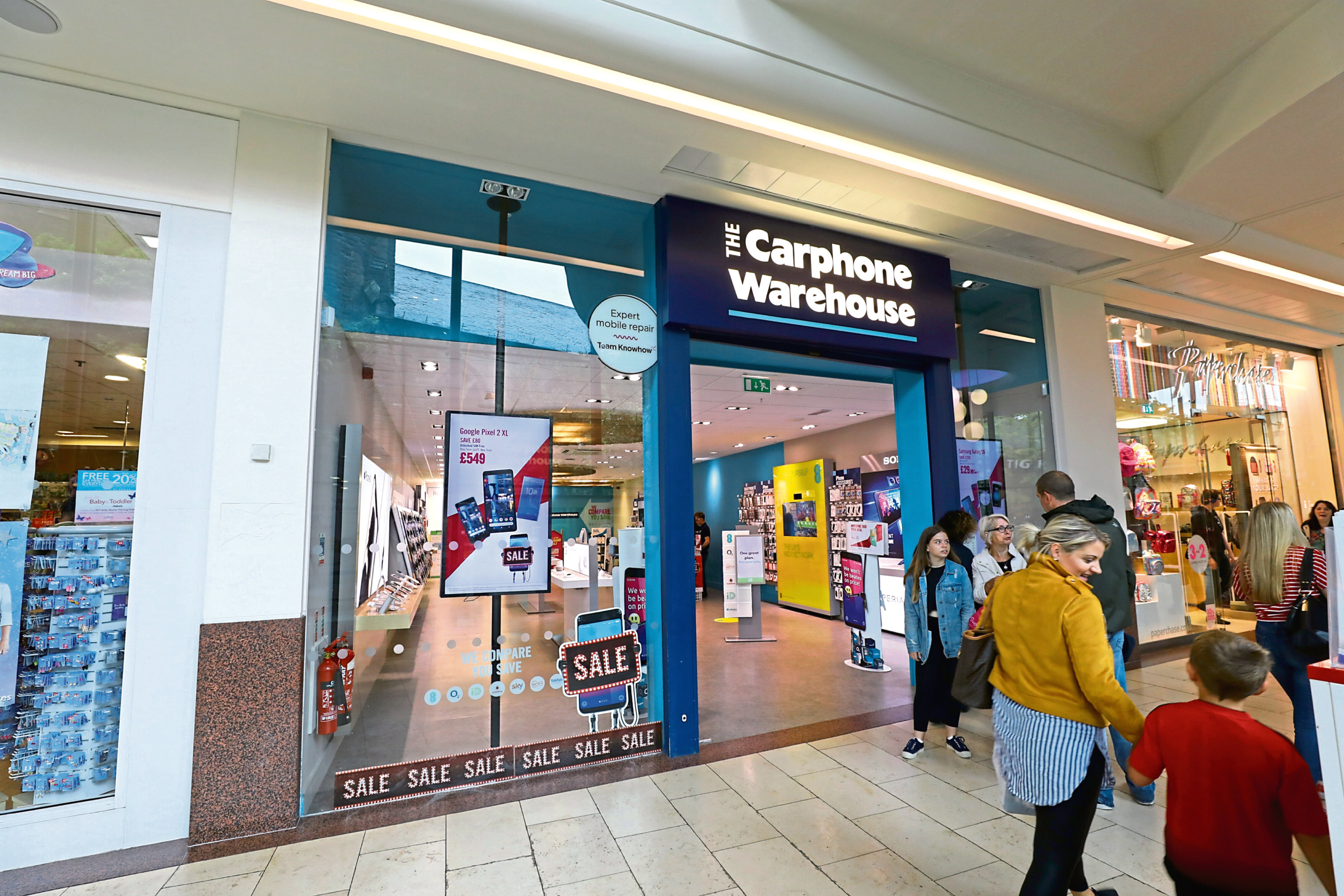 Carphone Warehouse in the Overgate Centre