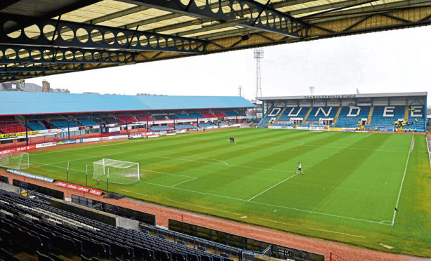 The Kilmac Stadium at Dens Park