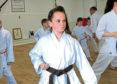 Dana in action.