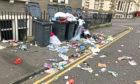 Rubbish on Dudhope Street