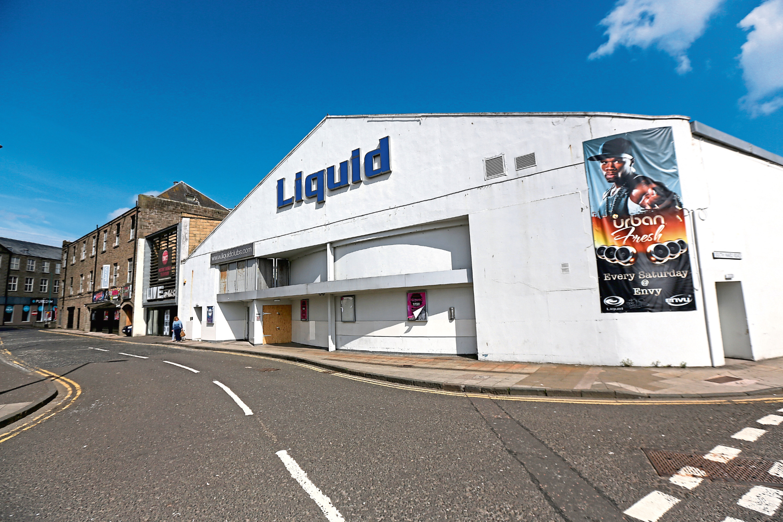 Liquid nightclub (stock image)