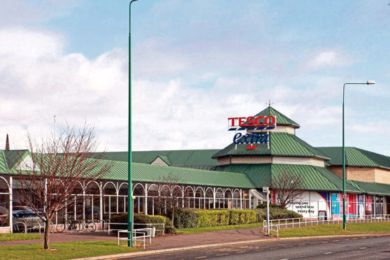 Tesco Riverside, Dundee.