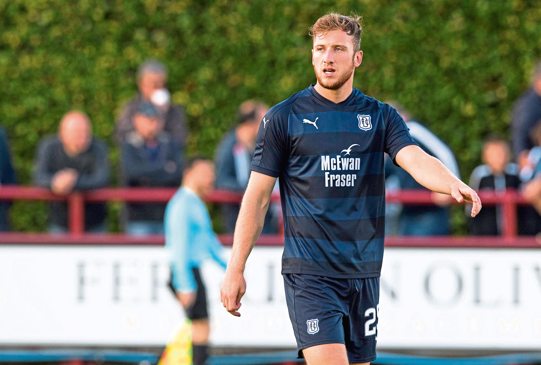 Dan Jefferies in action for Dundee