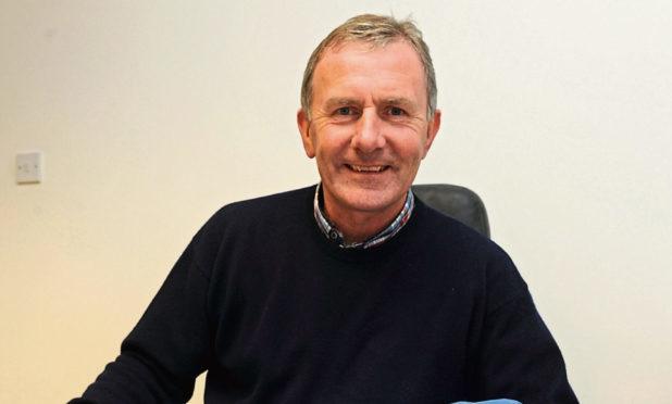 Ex-Saints and Dundee United defender Raymond Stewart