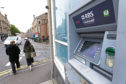The RBS ATM on Perth Road