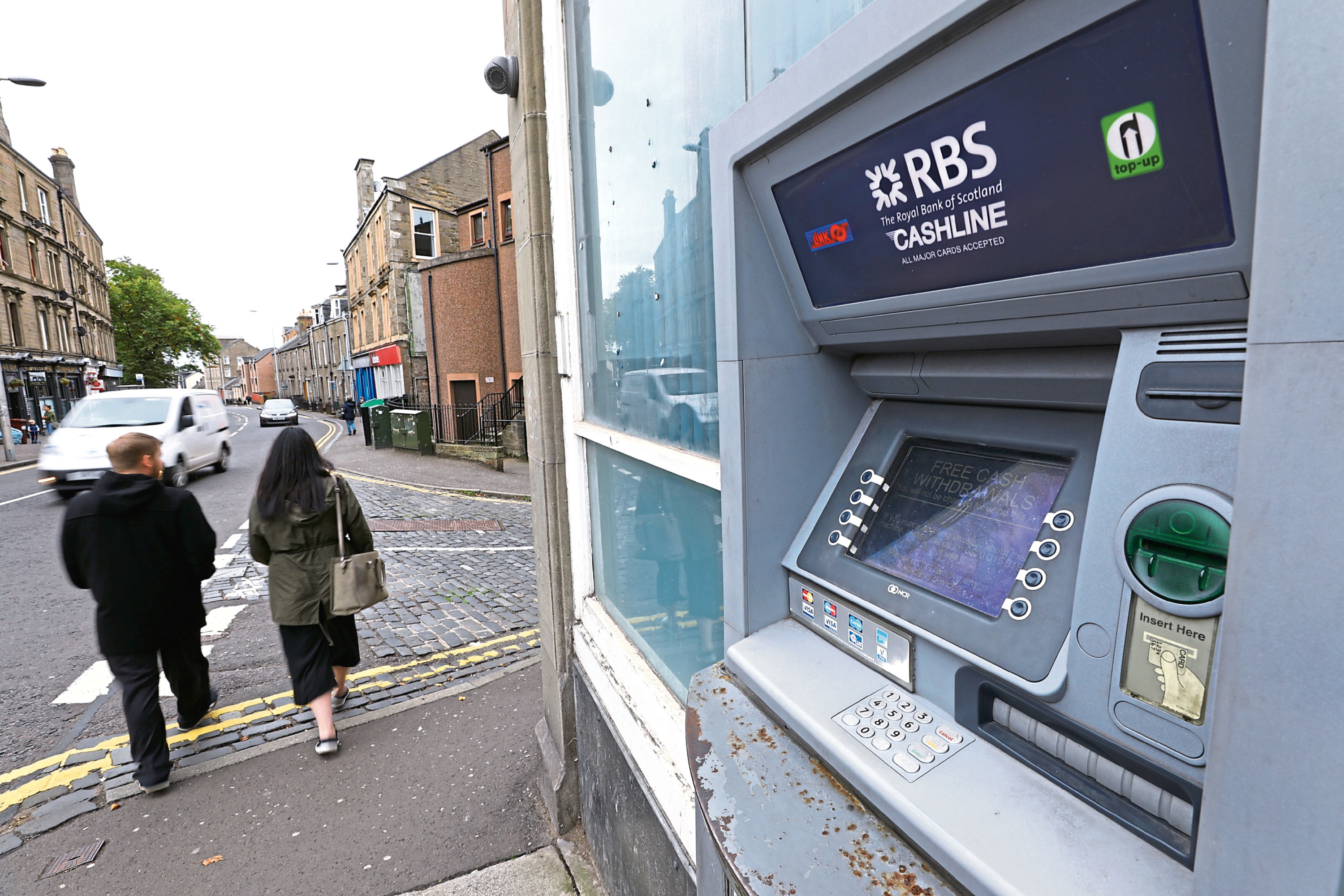 It is hoped the move will stop older people who should be self-isolating from leaving the house to go to the bank