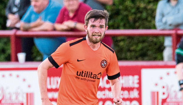 Sam Stanton in action for Dundee United.