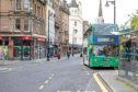 A number 10 Xplore bus