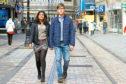 Ben Lawrie (23) with his girlfriend Mariam Mahmood  (22)