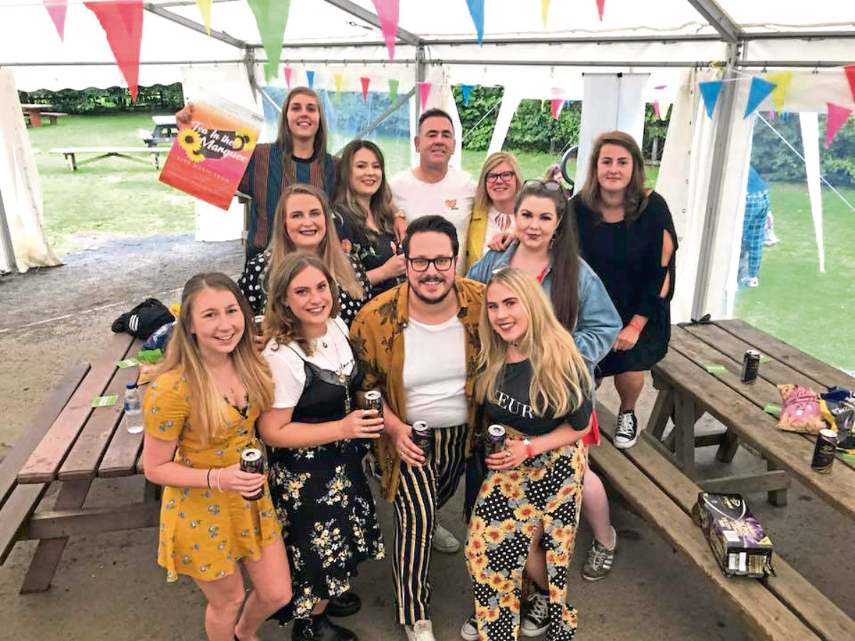 Fundraiser held in memory of Morgan Christie - Tea in the Marquee at Monikie Country Park