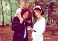 Kyle Falconer, Laura and daughter Wylde