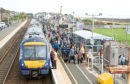 Carnoustie is among the stations set for improvement works.