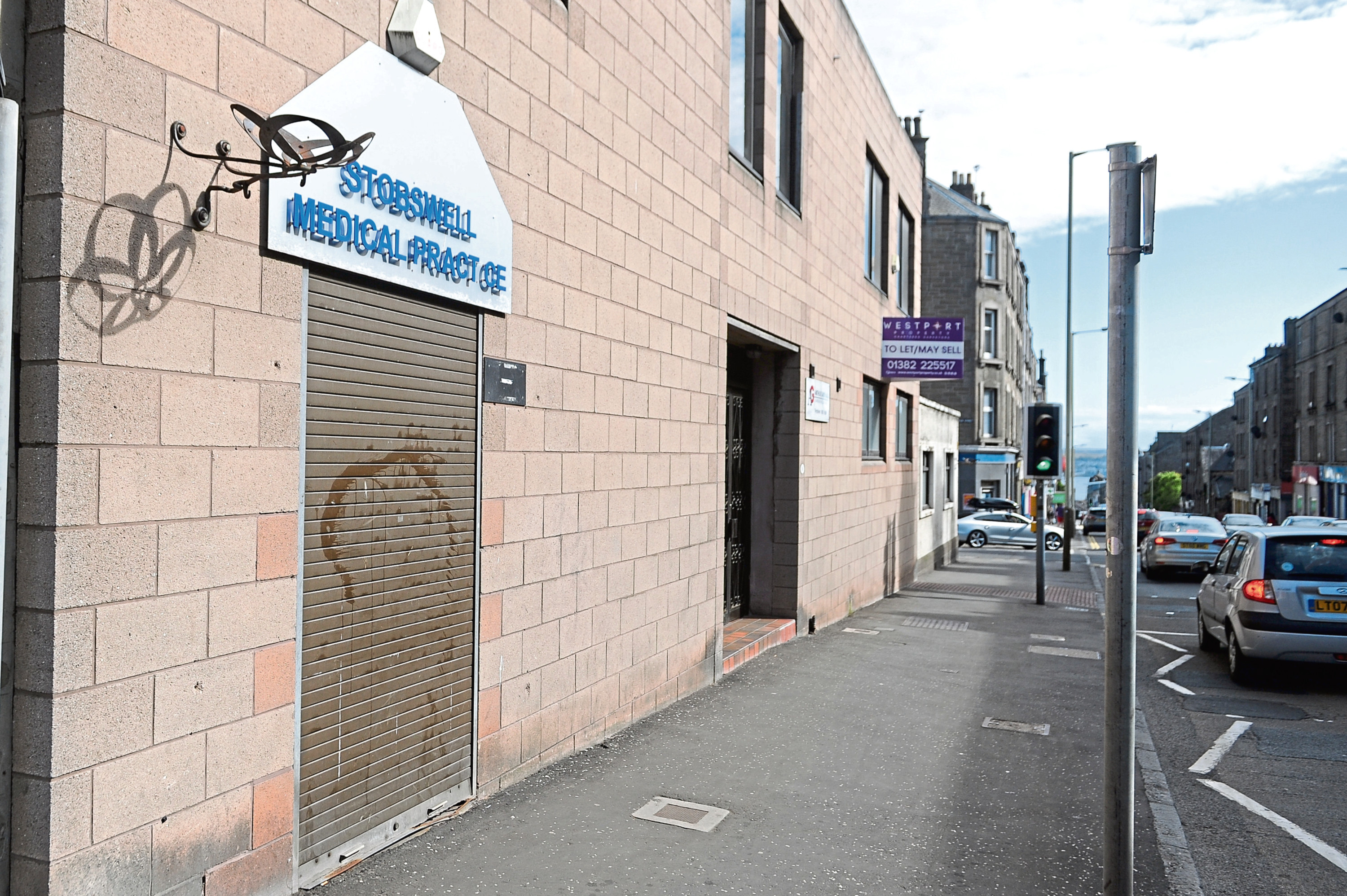 Stobswell Medical Practice, Albert Street, Dundee (stock image)