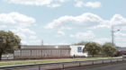 An artist impression of the new Aldi store in Myrekirk, Dundee
