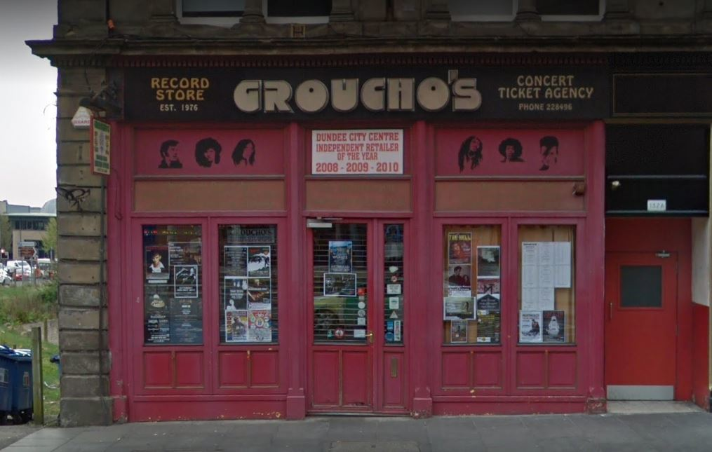 Groucho's in Nethergate, Dundee (stock image)