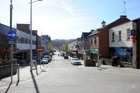 Lochee High Street (stock image)