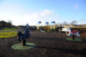 The play area at Powrie Park