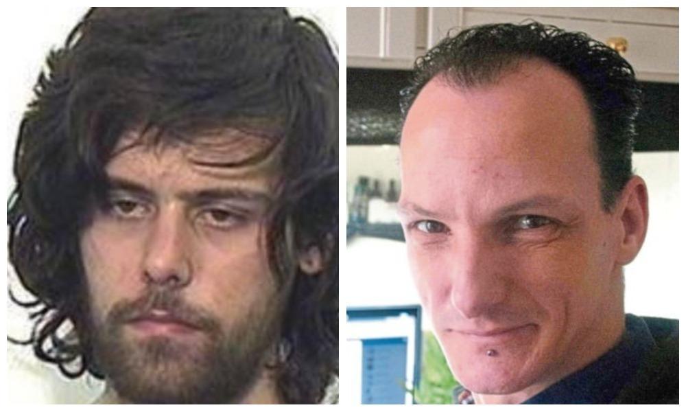 Killer John Styles and victim Jeroen van Neijhof