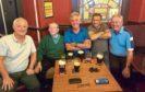 Davy Alexander, Joe Hart, Mike Kolacz, Frankie Campbell and Davy Henderson