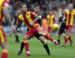 Martin Woods in action for Partick Thistle last season