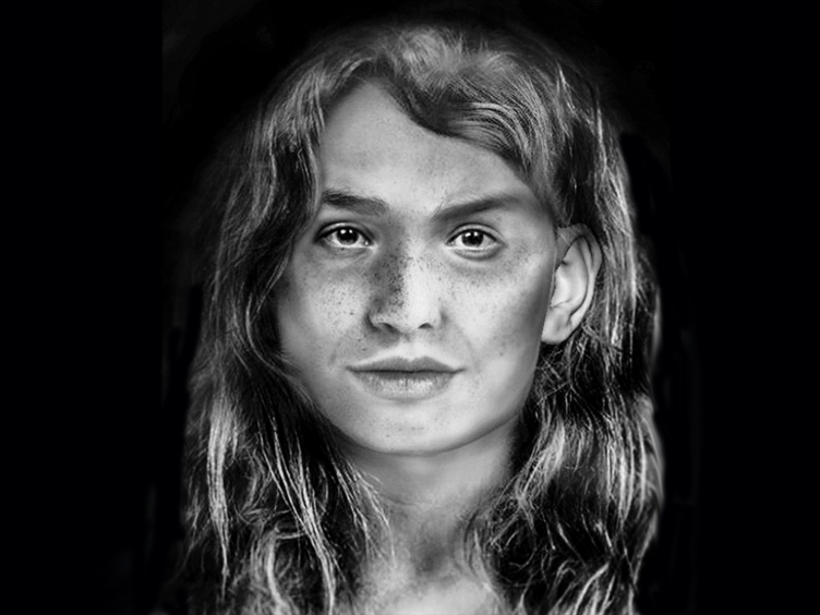 The woman died more than 600 years ago, before the archipelago was invaded (Karina Osswald/University of Dundee)