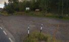 The car park at Hallyburton Wood