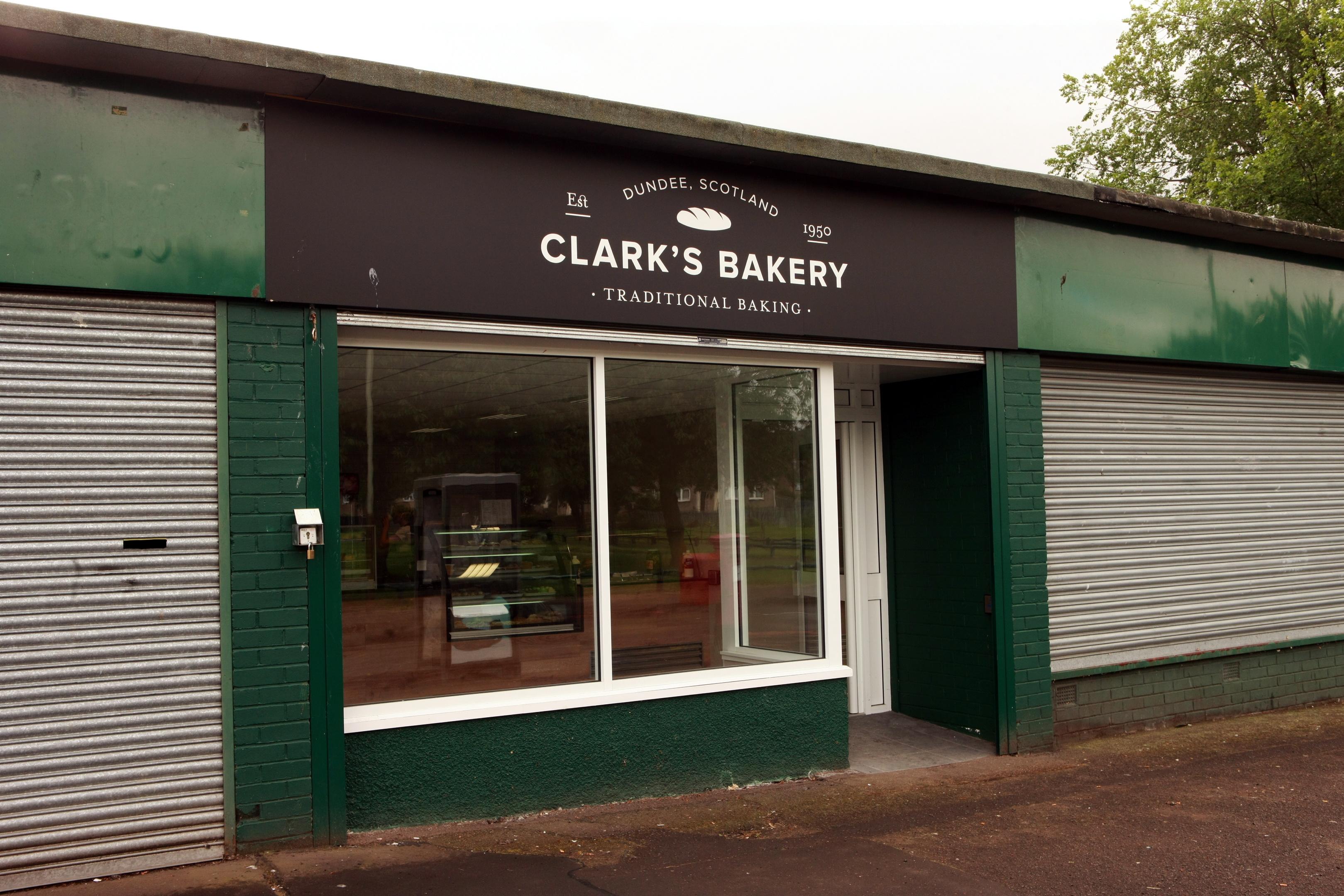 Clark's bakery on Craigowan Road
