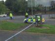 Police at Craigie Avenue
