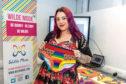 Deborah Breen with her 'Wilde Mode' LGBT Pants