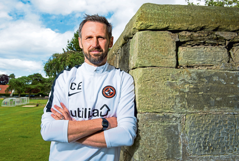 Dundee United reserve team boss Craig Easton