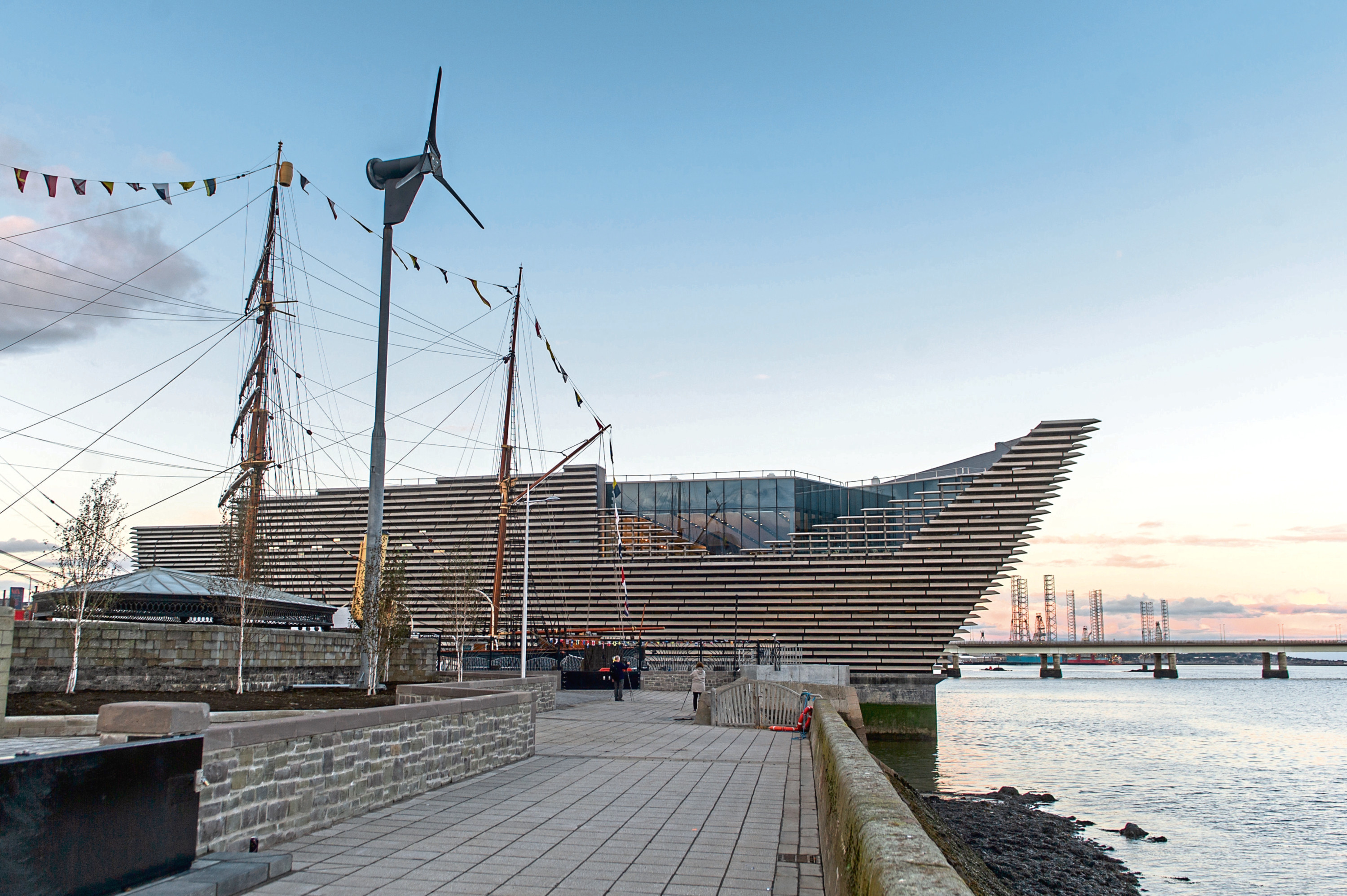 The V&A on Dundee Waterfront