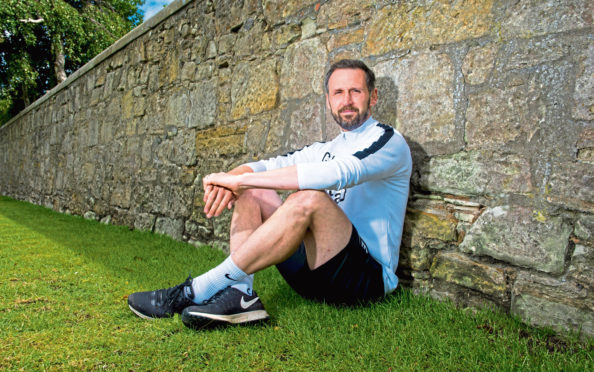 Dundee United coach Craig Easton