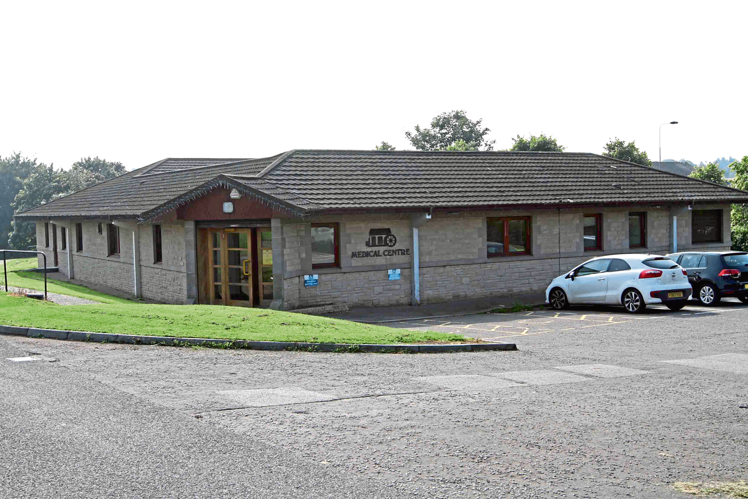 Fintry Mill GP surgery, which will close its doors for good.