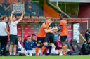 Fraser Fyvie made his long-awaited comeback for Dundee United when he replaced Mati Zata midway through the second half of Saturday's Irn-Bru cup-tie against Alloa at Tannadice.