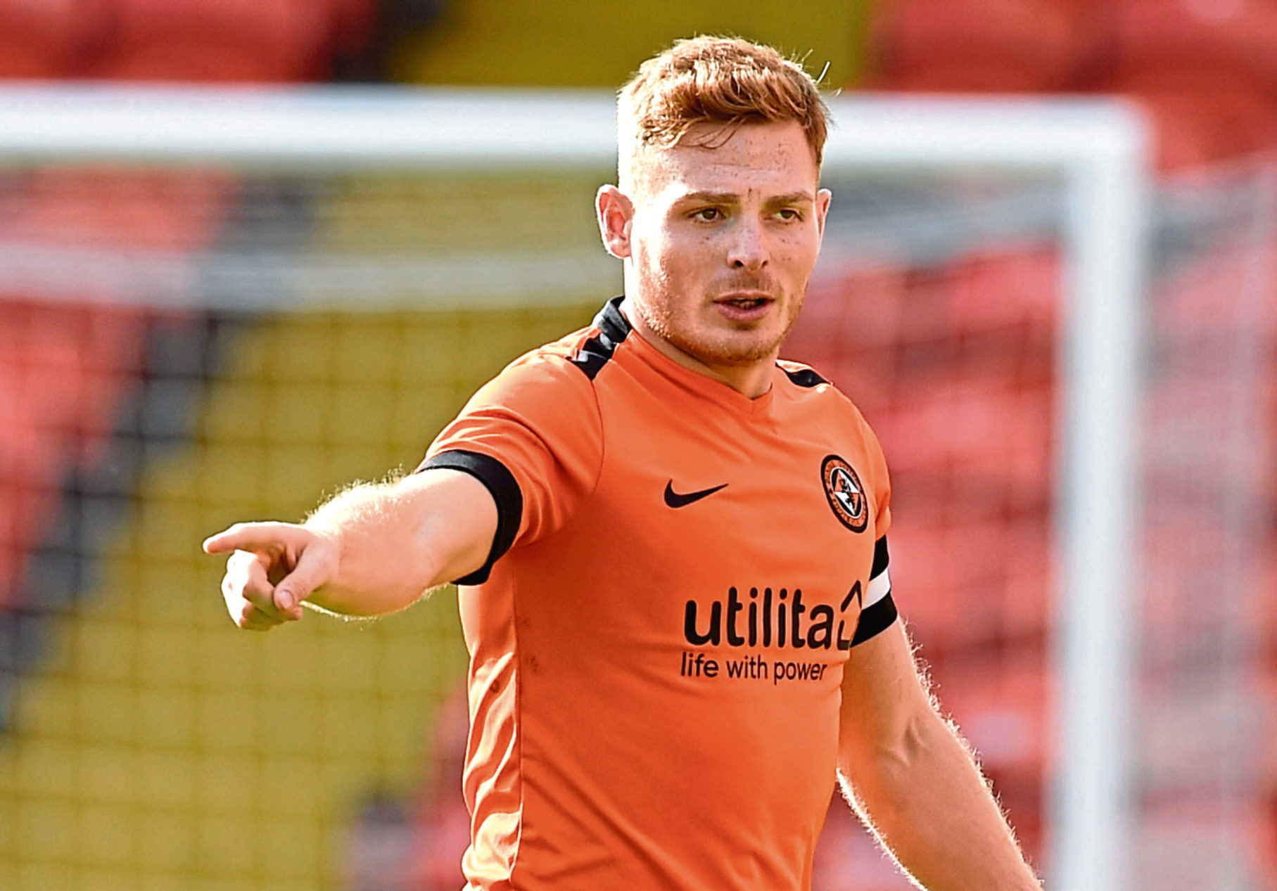 Dundee United captain Fraser Fyvie.