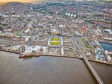 Recent aerial images of Dundee Waterfront area