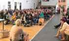 The meeting at Dundee's North East Campus