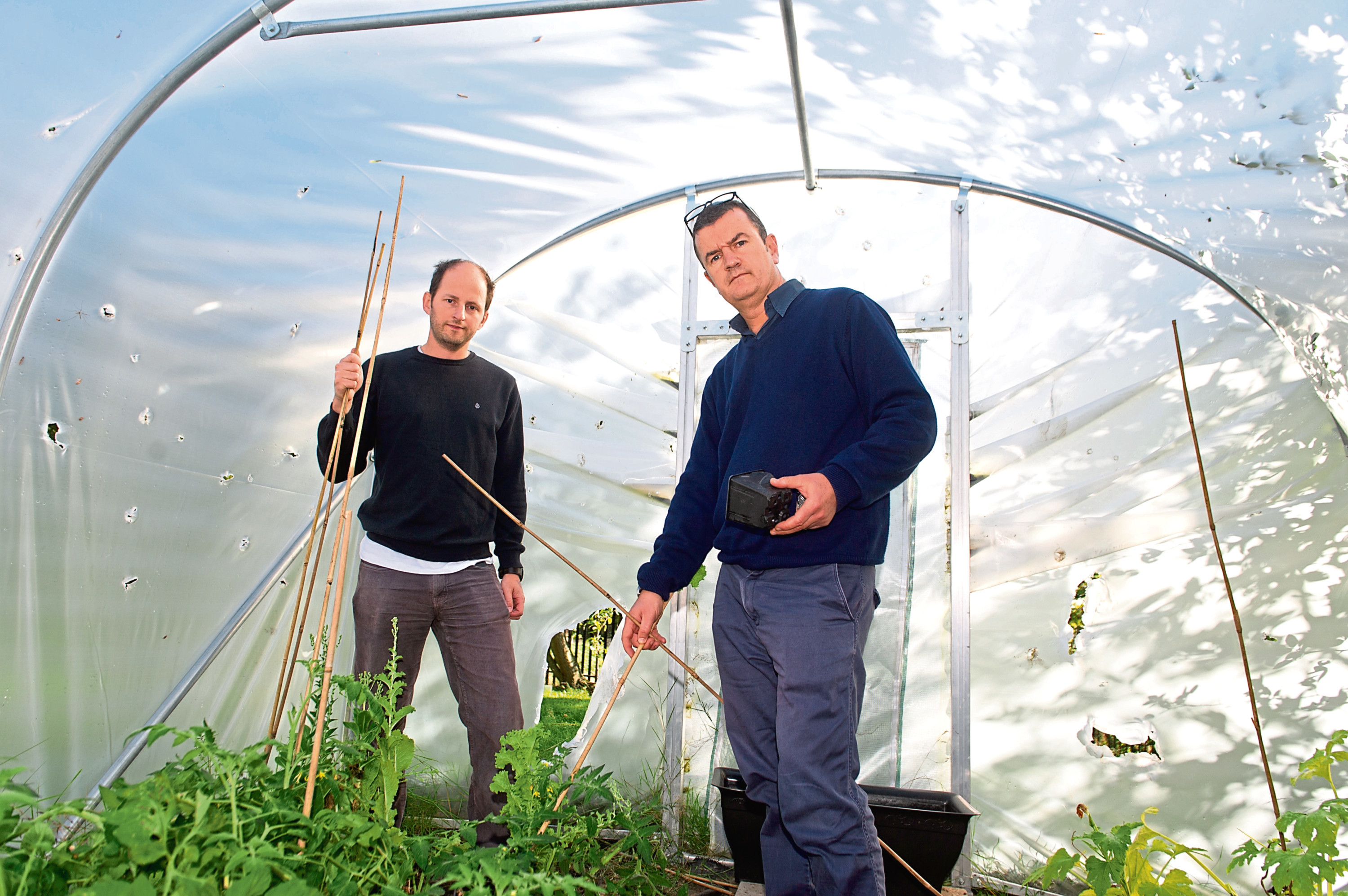 The charity has already installed a polytunnel at its Garden of Hope.