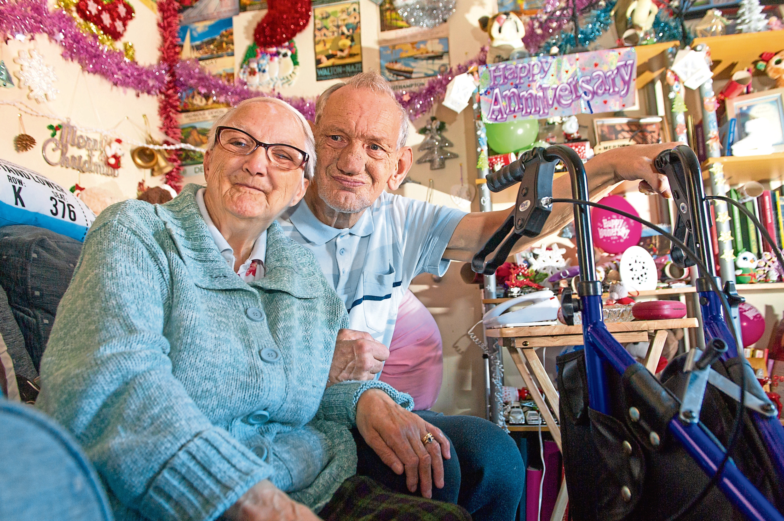 Val and Robert Heath have lived in their Whitfield home for 38 years