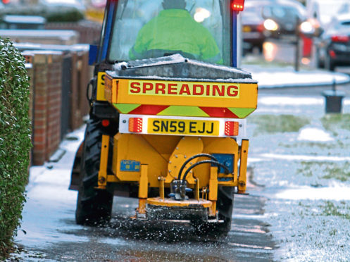 Gritters will cover all villages in Angus this winter.