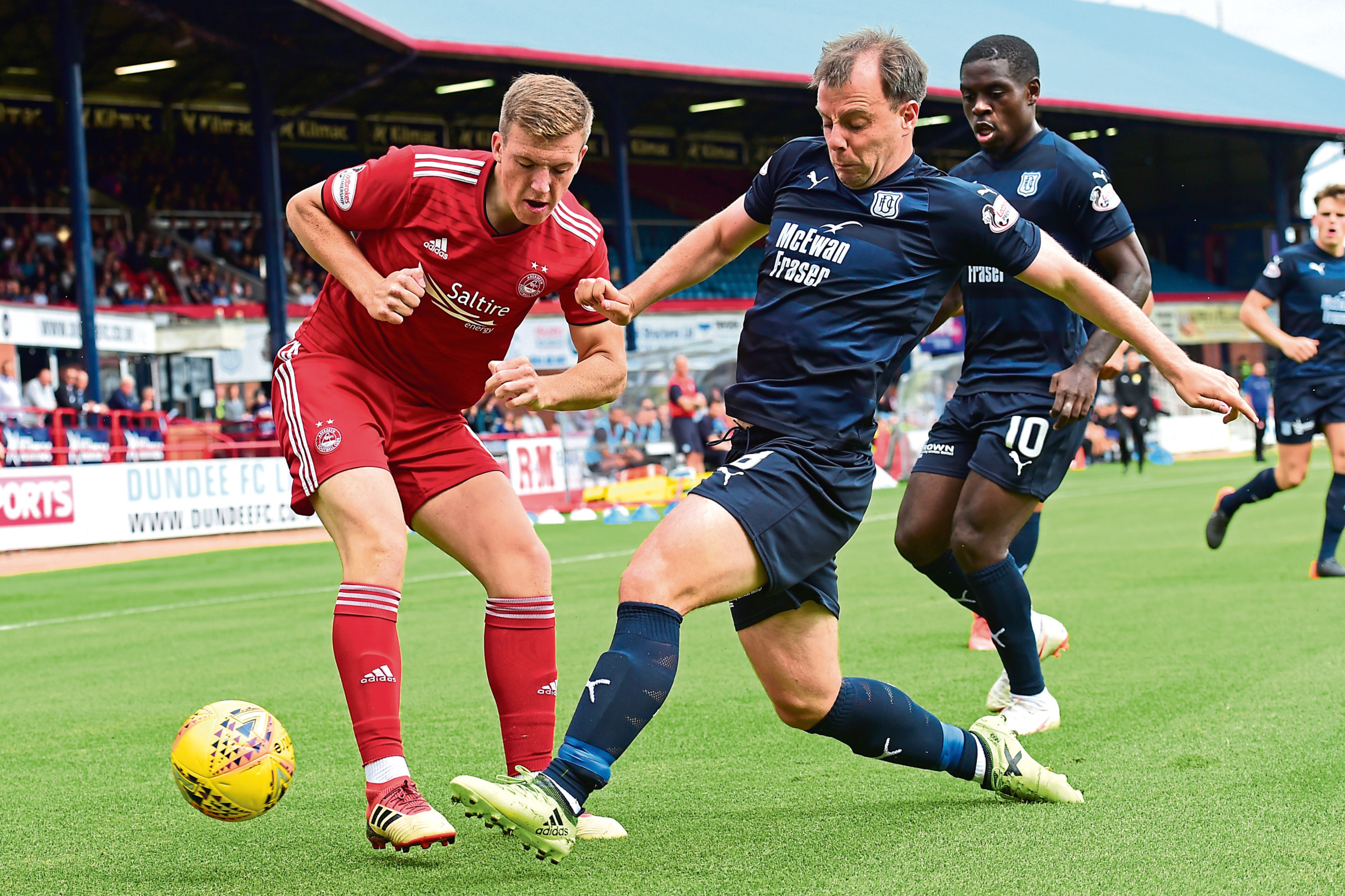 Dundee midfield man Paul McGowan says it's up to the players to get                                  themselves out of the trouble they find themselves in at the foot of the Premiership table after just five games
