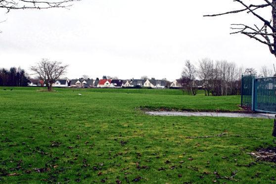 The former site of Kingspark School on Gillburn Road.