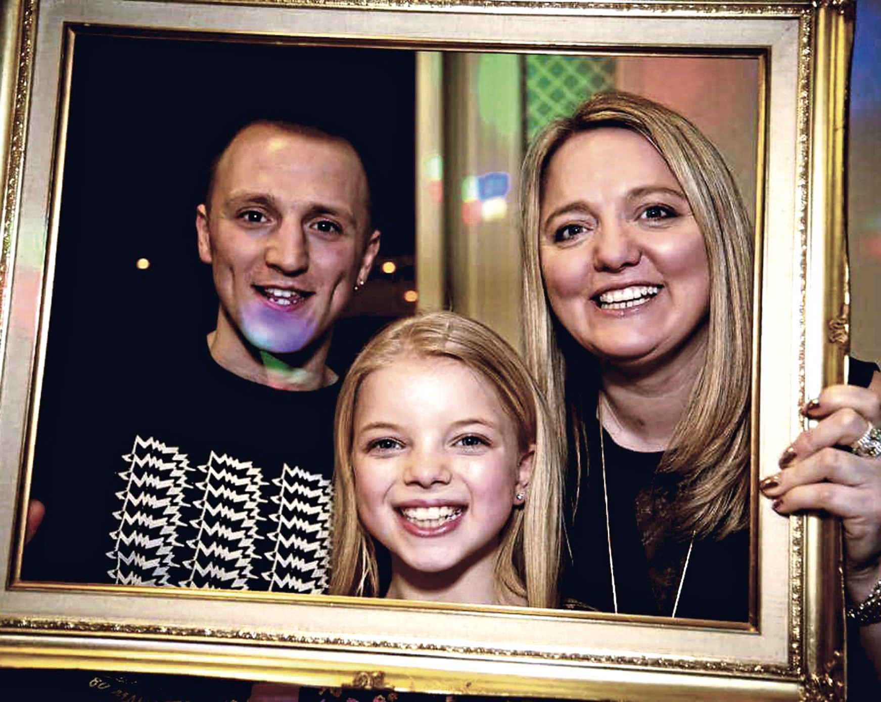 Lily Douglas, who has a severe form of cancer. pictured here with her mother, Jane Douglas and her brother, Leon.