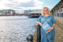 CEO of Dundee & Angus Chamber of Commerce, Alison Henderson, at City Quay