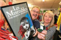 Picture shows John Sinclair and Karen Kelbie of the Perth Road charity shop.
