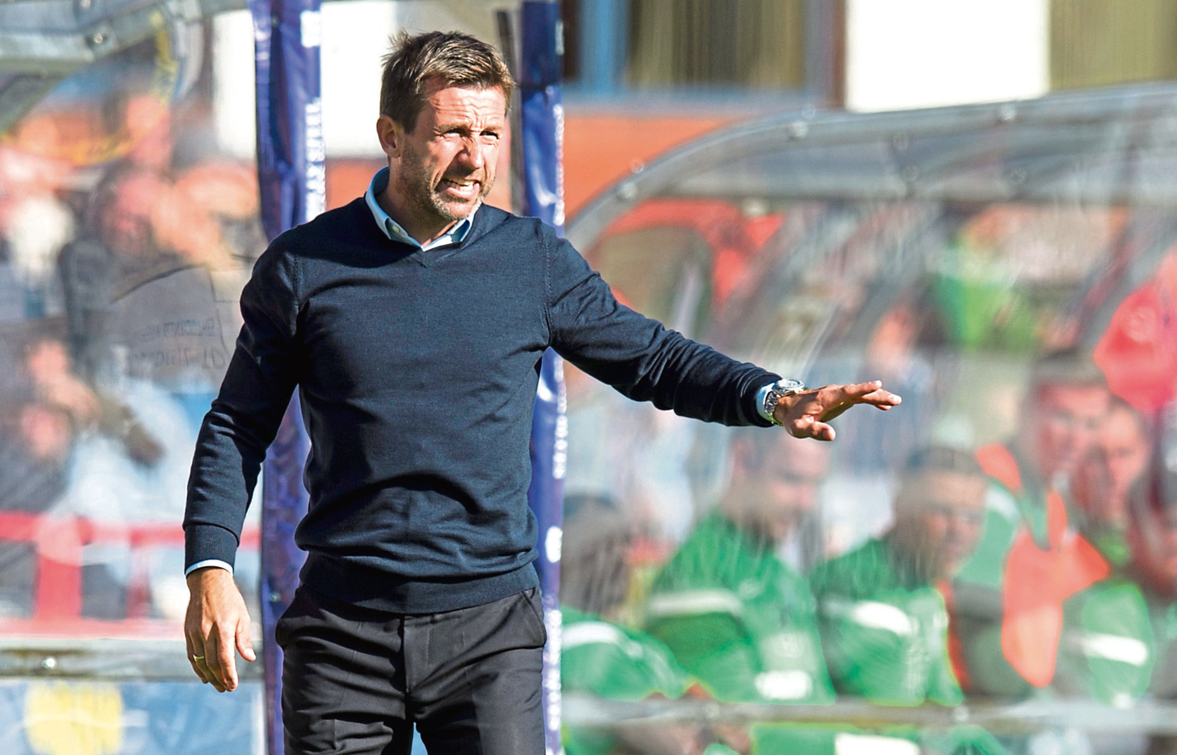 Dundee manager Neil McCann wants his side to give themselves a chance in games by going ahead – something they haven't done in seven matches.