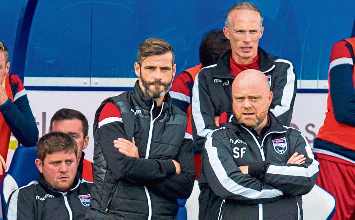 Stuart Kettlewell (centre) with fellow co-boss Steven Ferguson (bottom right)